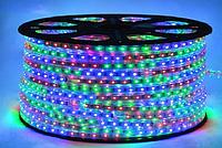 Светодиодная лента RGB 5050-60 led 220V IP67