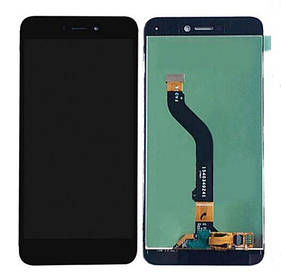Дисплей (экран) для Huawei GR3 2017 з сенсором (тачскріном) черный Оригинал