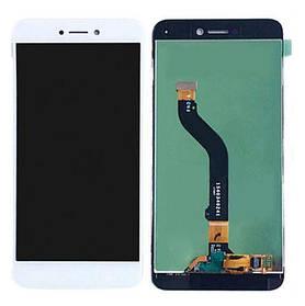 Дисплей (экран) для Huawei GR3 2017 з сенсором (тачскріном) белый