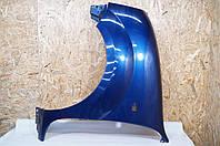 Крыло Рено Кенго (L) (Синее) (Переднее) 7751691052  Б/У