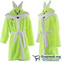 Турецкие махровые халаты для детей Размеры: 5-6,7-8,9-10 лет (5778-1)