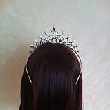 Корона для конкурса, диадема, тиара, высота 5,5 см., фото 5