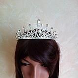 Корона для конкурса, диадема, тиара, высота 5,5 см., фото 2