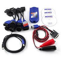 Сканер для диагностики грузовой техники Nexiq 125032 USB Link + Bluetooth, автоcканер