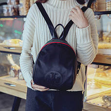 Рюкзак с молнией декорирован лентой- 207-18, фото 2