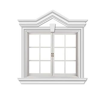 Віконне обрамлення №8