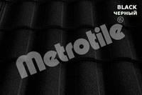 Композитная черепица Metrotile Roman (роман) Black