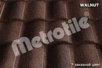 Композитная черепица Metrotile Roman (роман) Walnut