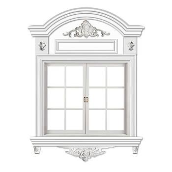 Віконне обрамлення №9