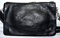 Женский классический черный клатч  26*17