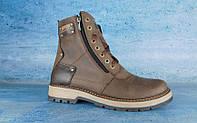 Зимние мужские ботинки Zangak ( натуральная кожа + мех ) , акция !, фото 1