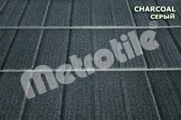 Композитная черепица Metrotile SHINGLE (шингл) Charcoal