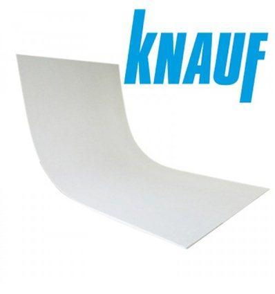 Гипсокартон  Knauf  Арочный 6,5x1200x2500