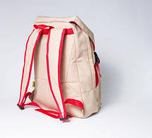 """Городской рюкзак  """"URBAN"""" бежевый, фото 3"""
