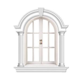 Віконне обрамлення №12