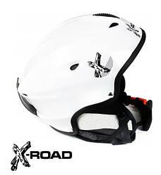 Шлем горнолыжный, сноубордический X-Road 670 white
