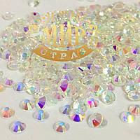 Стразы DMC Premium Unfoiled, цвет Crystal AB, ss20 (5мм), 100шт