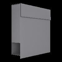 Металлический почтовый ящик индивидуальный серый