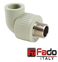 Колено PPR 32*3/4 НР полипропиленовое FADO Италия
