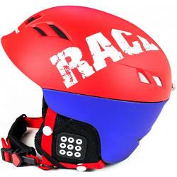 Шлем горнолыжный, сноубордический X-Road № 930-2 Red/Blue