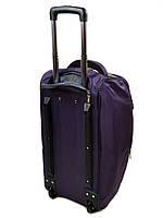 Женская дорожная сумка на колесах нейлон