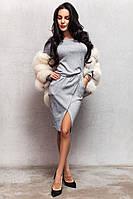Костюм из ангоры,юбка +кофта 2 цвета код ак 48