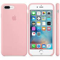 Силиконовый чехол на iPhone 7+/8 plus Розовый Silicon case iphone 7 plus/8+ Pink