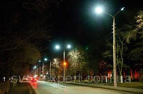 Светодиодный уличный светильник 100W IP65 6400К 9000lm, фото 3
