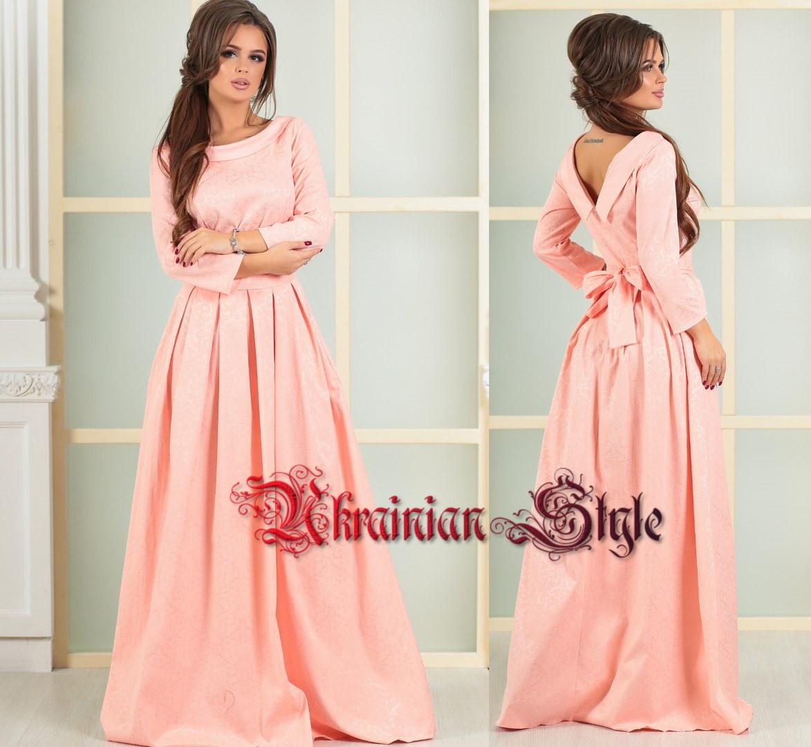 315e596860b Красивое вечернее платье в пол с бантом. 4 цвета!  продажа