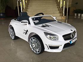 Детский электромобиль X-Rider Mercedes SL63 AMG Белый