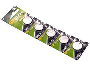 Батарейка диск. GP CR2025-U5 Lithium CR2025, 3V