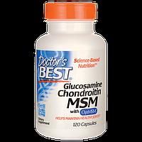 Глюкозамин+хондроитин+МСМ США 1500 мг