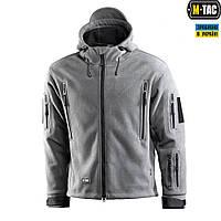 M-Tac куртка флисовая Windblock Division Gen.2 Grey