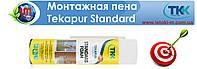 Пена монтажная полиуретановая Tekapur Standart, 500 ml. ручная (12-502)
