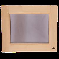 Окно глухое для бани и сауны Tesli