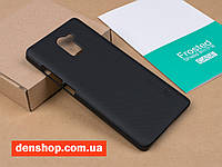 Чехол бампер Nillkin Frosted Shild для Xiaomi Redmi 4 Standard Edition - (Black). Пленка в комплекте !