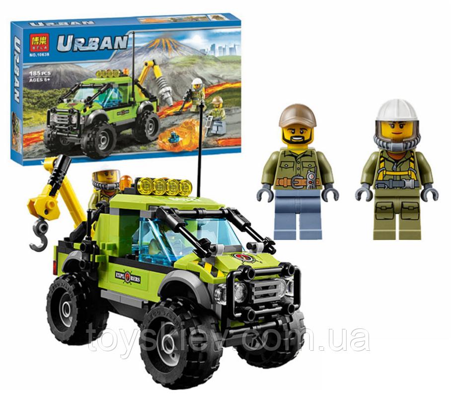 Конструктор Bela Urban 10638 «Разведывательный грузовик исследователей вулканов»