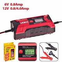 Зарядное устройство импульсное VOIN VL-144 2-4А/6-12V/цифровой экран/выбор типа АКБ