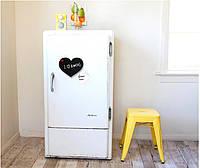 Магнит на холодильник Сердце  с мелком