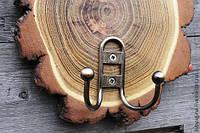 Ключница из спила дерева ( вешалка )