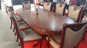 Большой обеденный стол Братислава Sof, цвет орех, фото 2