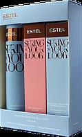 Набор-коллекция ESTEL LOOK (шампунь+двуфазный спрей+мицеллярный спрей)