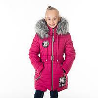 Зимнее пальто для девочки Милашка