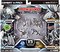 Игровой набор для битвы 4 игрока MONSUNO CORE-TECH - S.T.O.R.M CHARGER, ARACHNABLADE