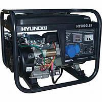 Бензиновый генератор HYUNDAI Professional HY 9000 LE 6,0 (6,6) кВт, фото 1