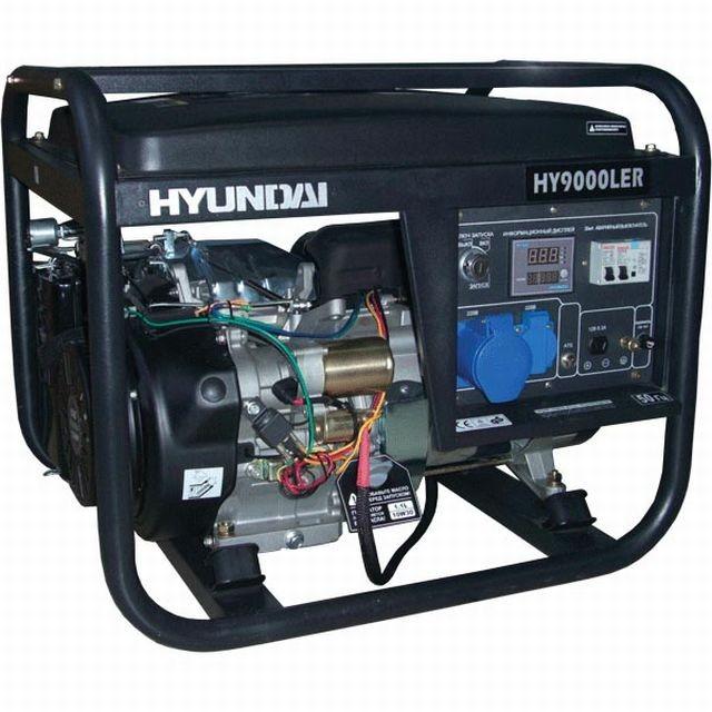 бензиновый генератор hyundai hy9000