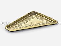 Поднос треугольный - Mini Medoro - Золотой