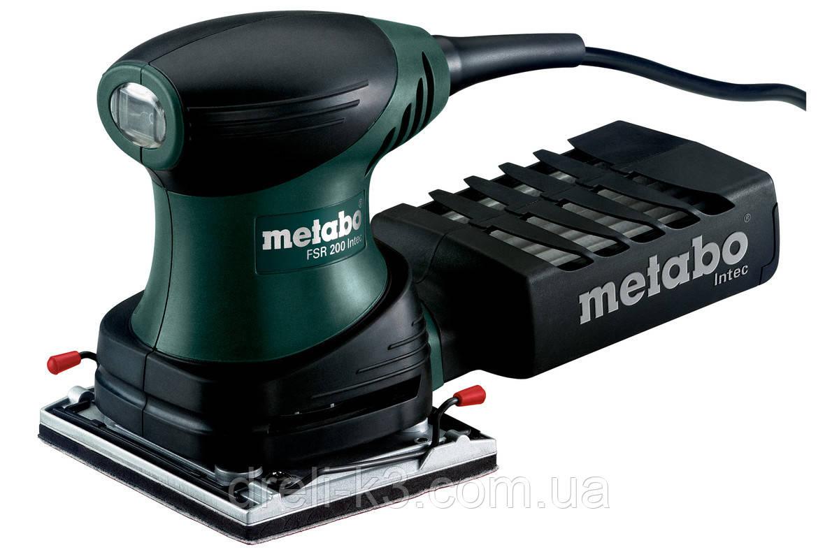 Шлифовальная машина Metabo FSR 200 Intec 114 x 102 мм