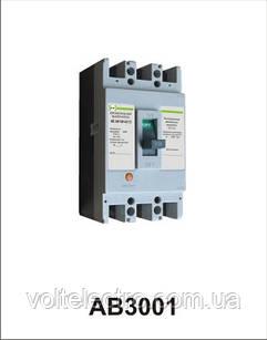 Автоматичний вимикач АВ3001/3Н 3р 50А Промфактор