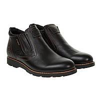 Ботинки мужские DanShoes(кожаные, стильные, теплые)